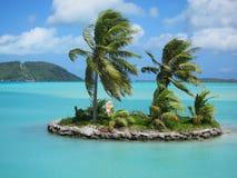 Тропический остров Стоковые Изображения