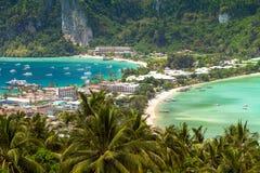 Тропический остров, Phi-Phi Дон, Таиланд Стоковая Фотография