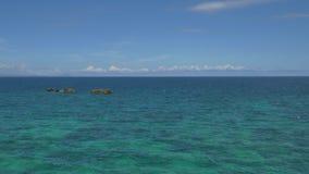 Тропический пейзаж моря в UHD акции видеоматериалы
