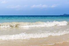 Тропический прибой океана Стоковая Фотография RF