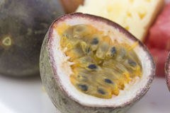 Тропический плодоовощ в отрезке Стоковое Фото