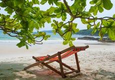 Тропический пляж в Таиланде Стоковое фото RF