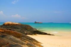 Тропический пляж в Таиланде Стоковое Фото