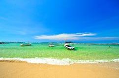 Тропический пляж в Шри-Ланке Стоковое Фото