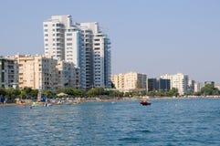 Тропический пляж города Стоковое Изображение RF