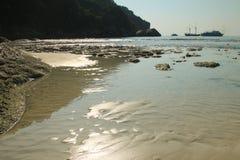 Тропический пляж на острове Similan Стоковое Фото