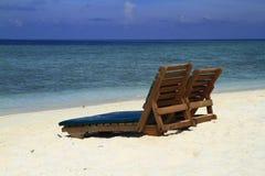 Тропический пляж Стоковые Фотографии RF