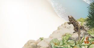 Тропический пляж [2] Стоковая Фотография RF