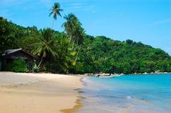 Тропический пляж 2 Стоковые Фотографии RF