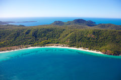 Тропический пляж Whitehaven рая Стоковое Изображение RF