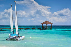 Тропический рай на летние каникулы Стоковая Фотография RF