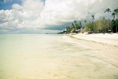 Тропический рай пляжа Стоковые Фотографии RF