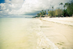 Тропический рай пляжа Стоковые Изображения