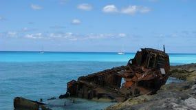 Тропическое кораблекрушение стоковые фотографии rf