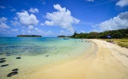 Тропическое море в острове Маврикия Стоковое Фото