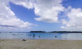Тропическое море в острове Маврикия Стоковая Фотография RF