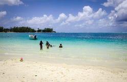 Тропическое море в острове Маврикия Стоковое Изображение RF