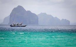 Тропическое море в Palawan, Филиппинах Стоковая Фотография RF