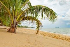 Тропическое море и голубое небо в Koh Samui, Таиланде Стоковое Изображение RF