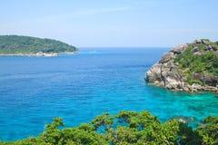 Тропическое море на острове Similan Стоковое фото RF