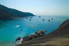 Тропическое море на острове Similan Стоковые Изображения