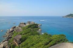 Тропическое море на острове Similan Стоковое Изображение