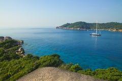 Тропическое море на острове Similan Стоковая Фотография RF