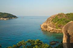 Тропическое море на острове Similan Стоковые Фото