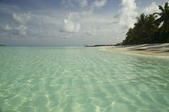 Тропическое перемещение пляжа острова и песка экзотическое Стоковая Фотография RF