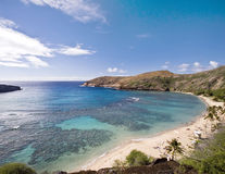 тропическое пляжа красивейшее Стоковое Фото