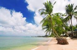 тропическое пляжа красивейшее Стоковые Фотографии RF