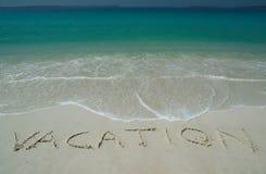 тропическое пляжа песочное Стоковое Фото