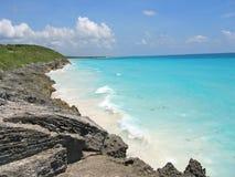 тропическое пляжа carabian Стоковая Фотография