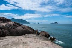 тропическое пляжа бразильское Стоковое Фото