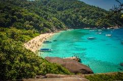 тропическое пляжа экзотическое Стоковое фото RF