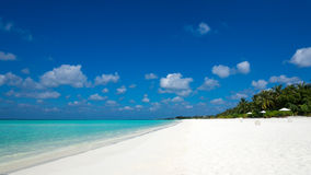 тропическое рая острова пляжа совершенное Стоковые Фотографии RF