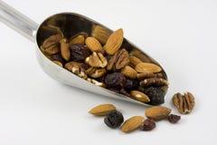 тропка ветроуловителя смешивания ягод nuts стоковые изображения rf