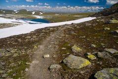 тропка горы Стоковое Фото