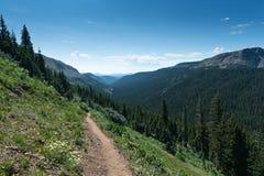 тропка горы colorado Стоковая Фотография