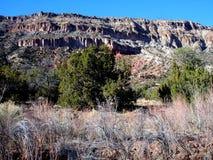 тропка горы jemez Стоковое Изображение RF