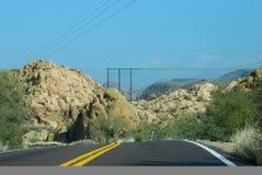 тропка дороги апаша Аризоны phoenix Стоковая Фотография