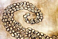 тропка кофе Стоковые Изображения