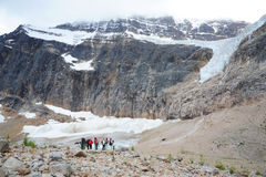 тропка ледника ангела hiking стоковое изображение