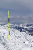 Тропка лыжи Стоковые Изображения