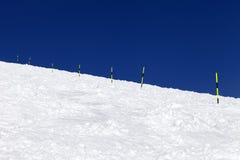 Тропка лыжи Стоковое Фото