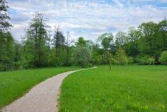 тропка парка Стоковое фото RF