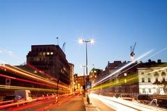 Тропка света Лондон стоковые изображения rf
