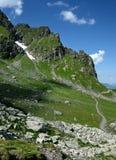 тропка Швейцарии горы стоковая фотография