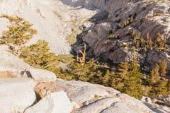 Тропка Mt Whitney Стоковые Фотографии RF