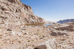 Тропка Mt Whitney Стоковое Изображение